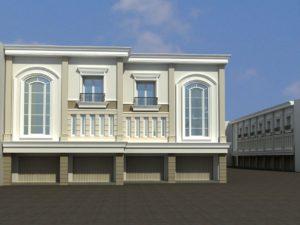 Desain Bangunan Ruko Surabaya