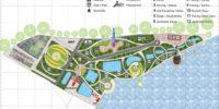 Konsep Desain Site Plan Tempat Wisata Final